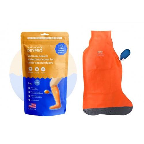 DryPro Waterproof Vacuum Sealed Half or Full Leg Cast Covers