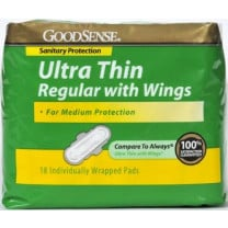 GoodSense Maxi Pad with Wings