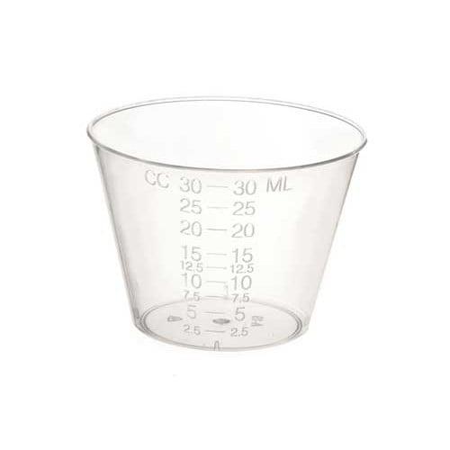 Medline DYND80000 Non-Sterile Graduated Plastic Medicine Cups