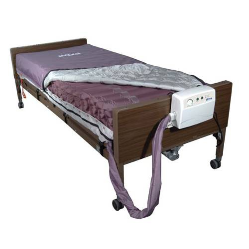 Med-Aire Alternating Pressure Air Mattress Low Air Loss System