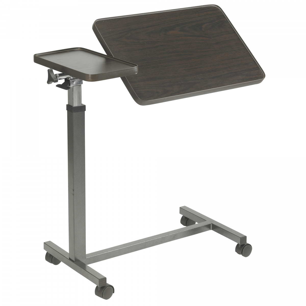 Drive Medical 13068bv Overbed Table Double Tilt Top
