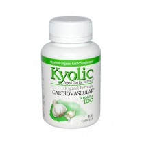 Kyolic Aged Garlic Extract Hi Po Cardiovascular Original Formula 100 Herbal Supplement