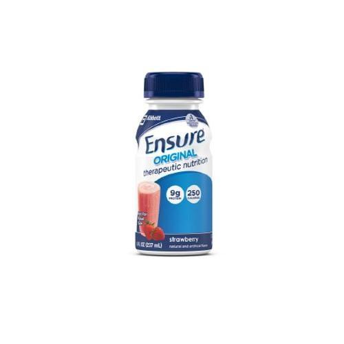 Ensure Original 8 oz Bottles Strawberry - 8 oz