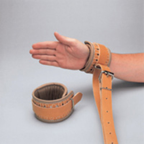 Posey Synthetic Leather Cuffs