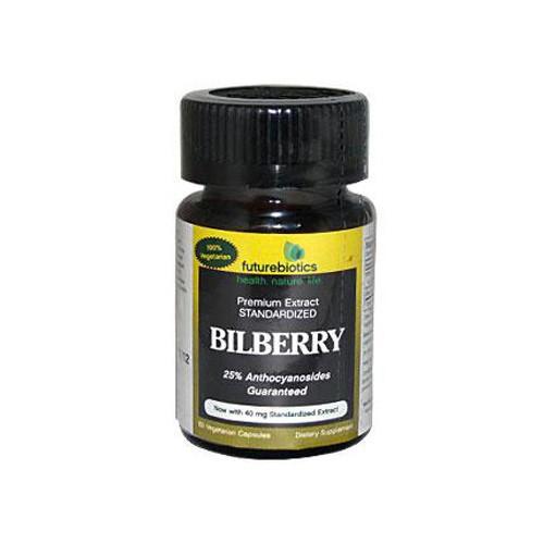 FutureBiotics Bilberry 140 mg Dietary Supplement 60 ct