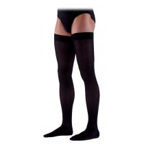 Sigvaris 230 Cotton Series Men's Thigh High Compression Stockings - 232N CLOSED TOE 20-30 mmHg