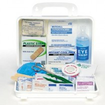 First Aid Kit Weatherproof/Plastic Case