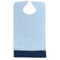 Terry/Waterproof Crumb Catcher Bib