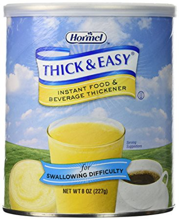 thick easy instant food and beverage thickener 5de