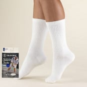 Men's Crew Length Athletic Cushion Sock 15-20 mmHg