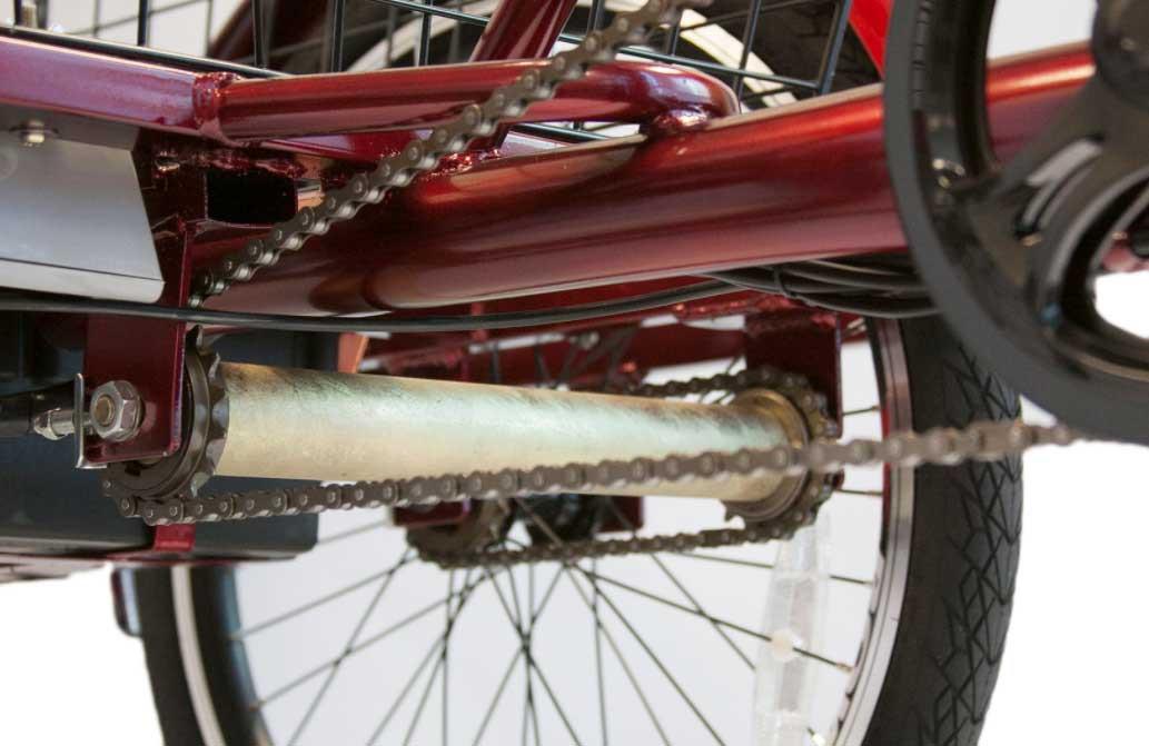 ewheels ew 29 electric trike 103