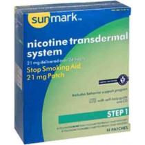 Sunmark Nicotine Transdermal Patch