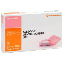 Smith and Nephew Allevyn 66800836 Gentle Border Lite