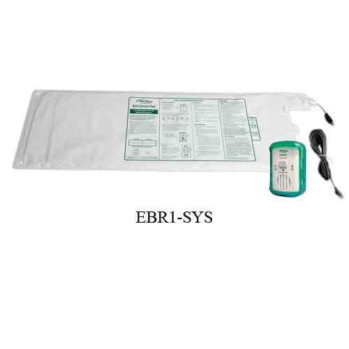 fallguard economy alarm with bed alarm sensor pad 726