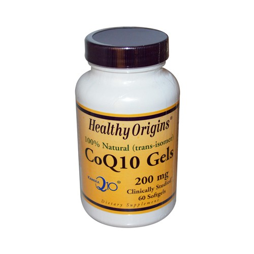 Healthy Origins CoQ10 200 mg Dietary Supplement