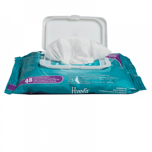 Hygea Flushable Personal Cleansing Cloths