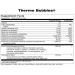 Thermo Bubbles Nutrition Label