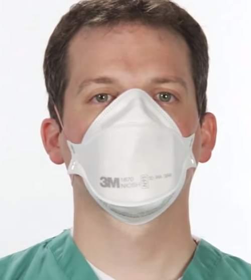how to wear surgical mask