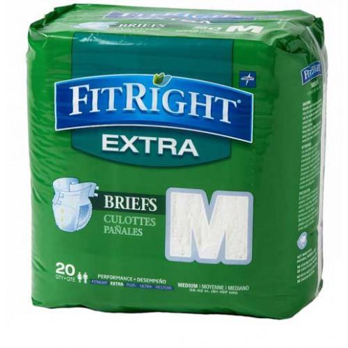 FitRight Extra Briefs Medium