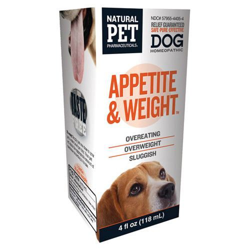 Homeopathic Natural Pet Dog Supplement - Appetite and Weight