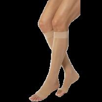 Shape To Fit Unisex Anti-Embolism Open-Toe Knee-Highs 18 mmHg