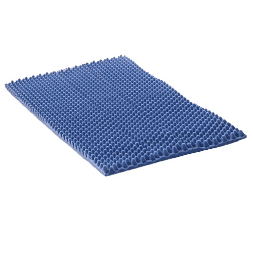 King Mattress Overlay Therapad Eggcrate Convoluted Foam Topper