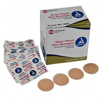 Sheer Plastic Adhesive Bandages