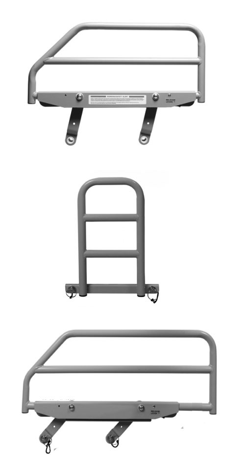 bed safety rails | patient safety rails - fall prevention rails