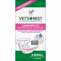 Comfort-Fit Disposable Female Dog Diaper