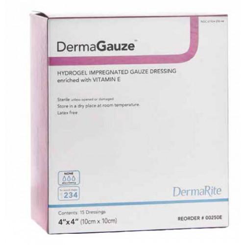 DermaGauze Hydrogel Impregnated Gauze