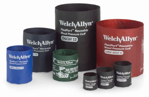 Welch allyn flexiport reusable blood pressure cuff w two