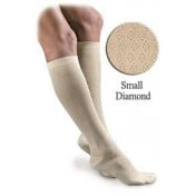 Activa Sheer Therapy Women's Diamond Pattern Trouser Compression Socks 15-20 mmHg