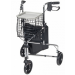 Winnie Walker Deluxe Three Wheel Rollator with Basket