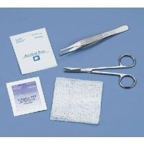 Busse 723 Suture Removal Kit with Iris Scissors and Adson Forceps