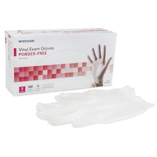 Clear Vinyl Exam Gloves