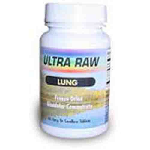 Raw Lung Glandulars