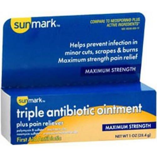Triple Antibiotic Ointment with Bacitracin
