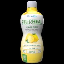Dermarite FiberHeal Fiber Supplement - Lemon