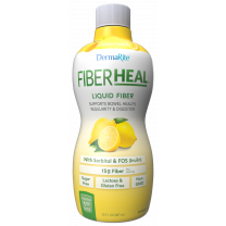Dermarite FiberHeal Fiber Supplement - Lemon