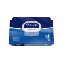 Prevail Adult Washcloths with Lotion - Soft Pack