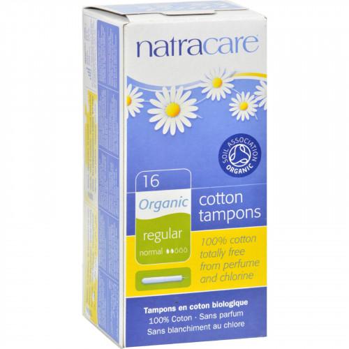 Natracare 100 Percent Organic Cotton Tampons