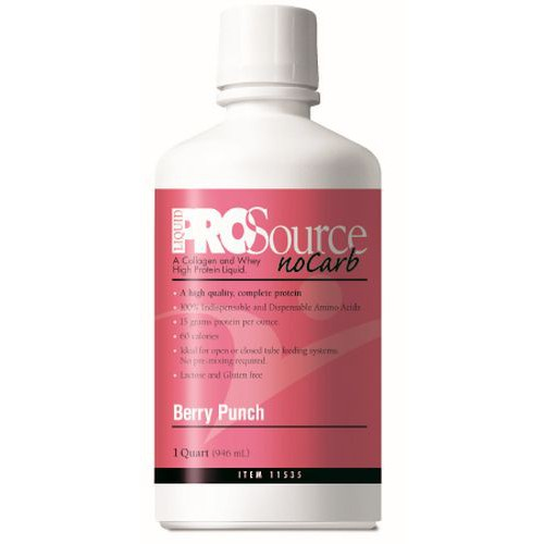 ProSource NoCarb Liquid Protein Supplement Berry Punch - 32 oz