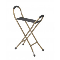 Drive Folding Lightweight Cane with Sling Style Seat