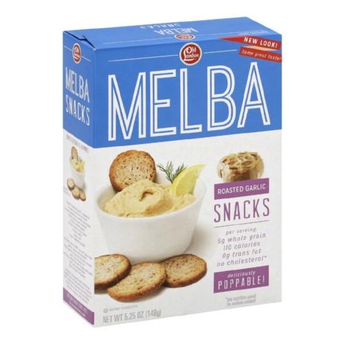 Old London Roasted Garlic Melba Snacks