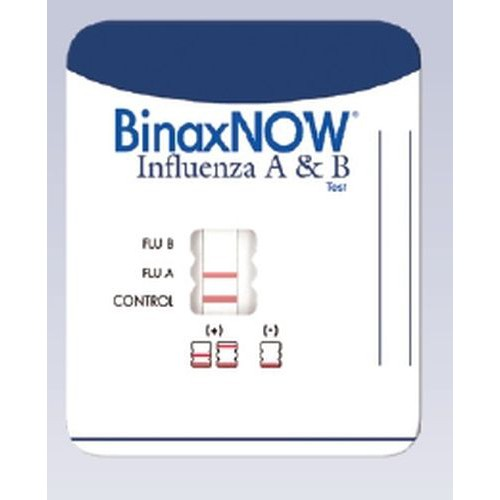 BinaxNOW Influenza A and B Rapid Diagnostic Kit CLIA Waived