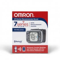 7-Series Utlra Silent Wrist BP Monitor with Bluetooth - Omron BP654
