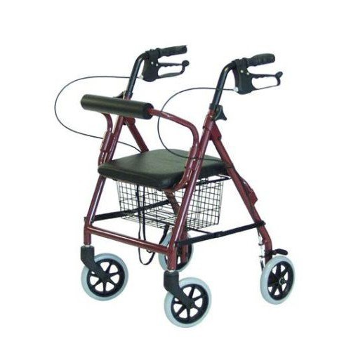 Lumex RJ4301R Walkabout Lite Junior 4-Wheel Rollator