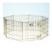 Midwest Gold Zinc Pet Exercise Pen