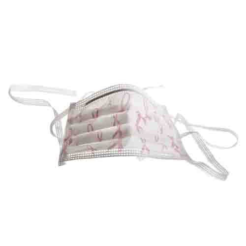 Pink Ribbon Surgical Face Mask