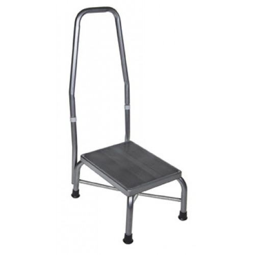 Heavy Duty Footstool with Non Skid Rubber Platform